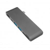 Адаптер USB-C HUB NETBOX SX-7349