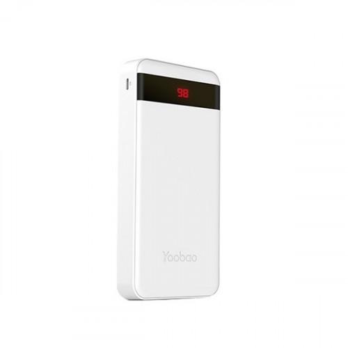 31576, YOOBAO M20 Pro (белый), , 70.00р., 3712, Yoobao, Портативные зарядные (Powerbank)