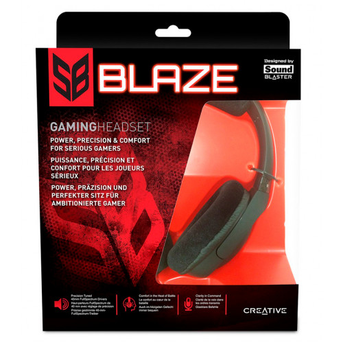 Наушники Creative SoundBlaster Blaze
