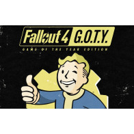 Диск Fallout 4 - Game of the Year Edition [PS4, русские субтитры]