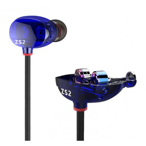 Наушники KZ Acoustics ZS2 (с микрофоном)