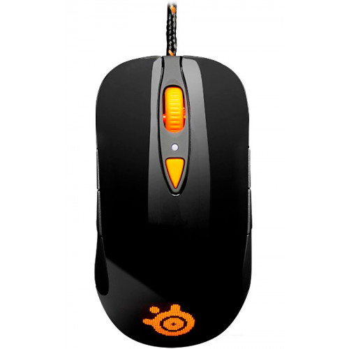 Мышка SteelSeries Sensei RAW Heat Orange